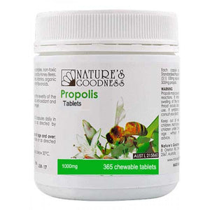 Propolis 1000mg 365 Tablets by Natures Goodness