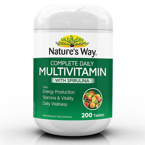 Complete Daily Multivitamin with Resveratrol by Natures Way
