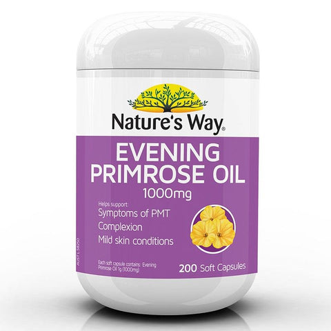 Image of Evening Primrose Oil 1000mg by Natures Way