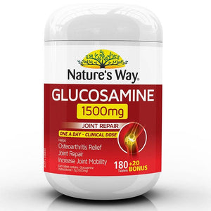 Glucosamine & Fish Oil 200 Capsules by Natures Way