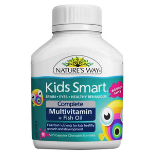 Kids Smart Complete (Multi + Fish Oil) 50 Chewables by Natures Way