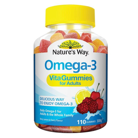 Image of Family Vita Gummies Omega 3 by Natures Way