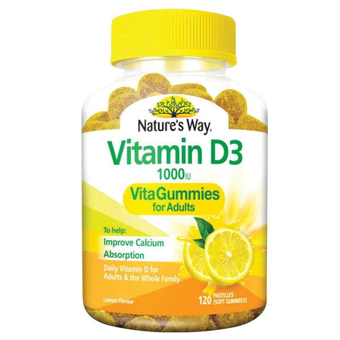 Family Vita Gummies Vitamin D3 by Natures Way
