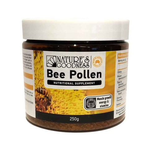 Image of Bee Pollen Granules 250g by Natures Goodness