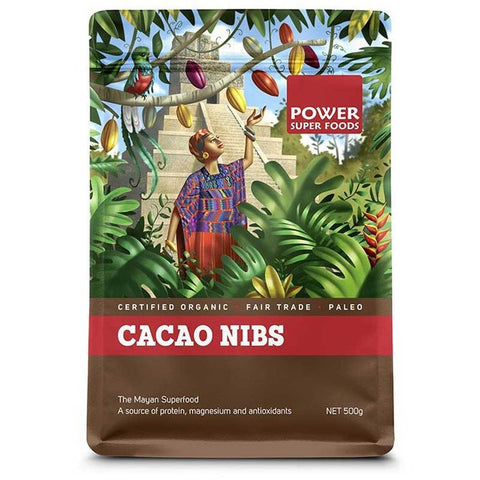 Image of Cacao Nibs (Organic) 500g by Power Super Foods