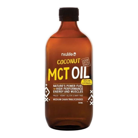 Coconut MCT Oil by Niulife - Fast and Powerful Energy Source