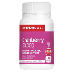 Cranberry 50000 50 Capsules by Nutra Life