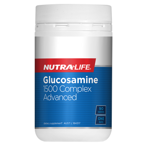 Glucosamine 1500 Complex Advanced 90 Tablets by Nutra Life
