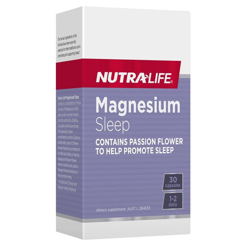 Image of Nutra Life Magnesium Sleep 30 caps