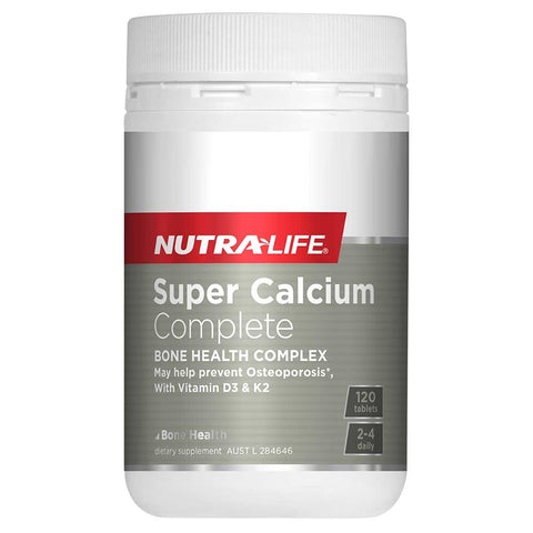 Image of Super Calcium Complete 120 Tablets by Nutra Life