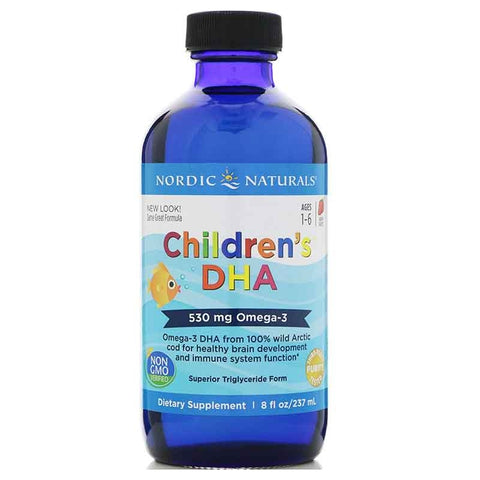 Image of Childrens DHA 237ml Strawberry by Nordic Naturals