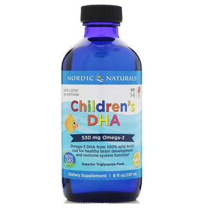 Childrens DHA 237ml Strawberry by Nordic Naturals
