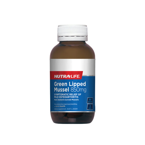 Image of Green Lipped Mussel 850mg by Nutra Life