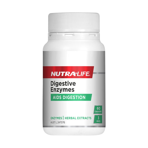Digestive Enzymes Capsules by Nutra Life