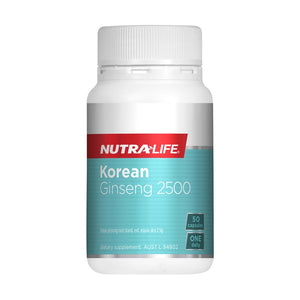 Korean Ginseng 2500 Capsules by Nutra Life