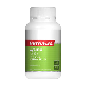 Lysine 1200 60 Tablets by Nutra Life