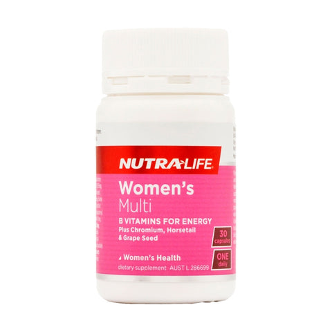 NutraLife Womens Multi 30 Capsules
