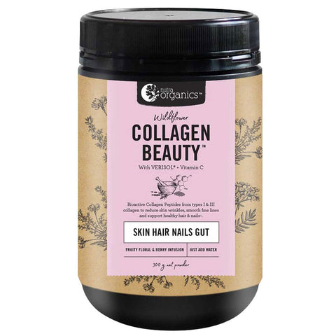 Collagen Beauty - Skin Hair Nails Gut - by Nutra Organics