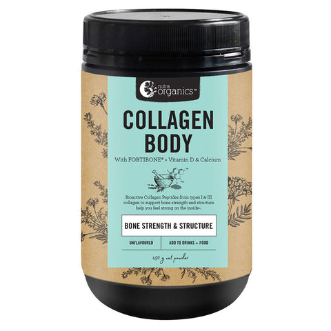 Collagen Body - Bone Strength Structure - by Nutra Organics