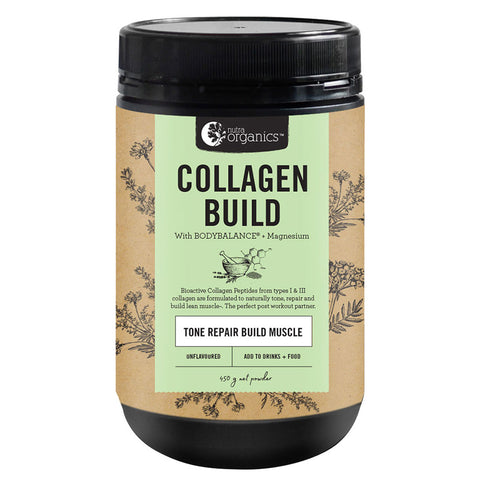Collagen Build Powder - Tone Repair Build Muscle - by Nutra Organics