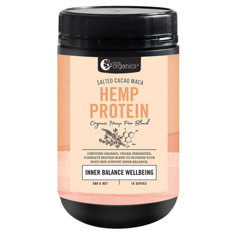 Image of Hemp Protein - Inner Balance Wellbeing - by Nutra Organics