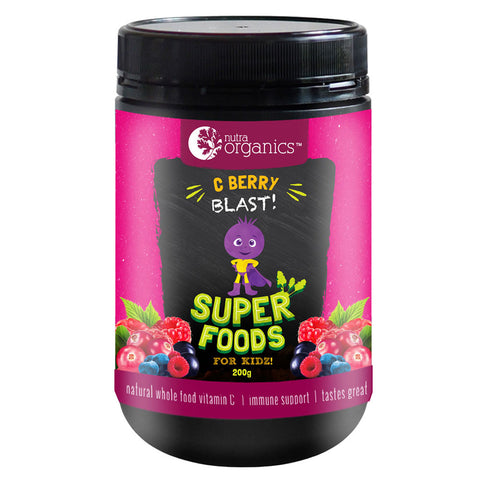 Super Foods for Kidz (C Berry Blast) by Nutra Organics