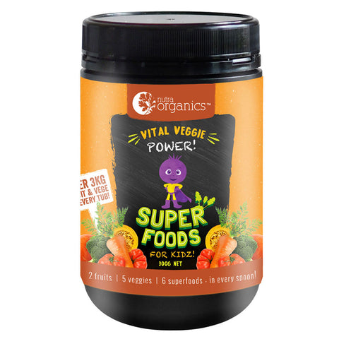 Super Foods for Kidz (Vital Veggie Power) by Nutra Organics