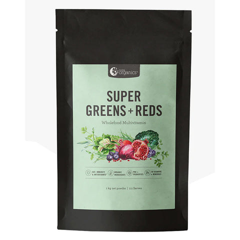 Super Greens & Reds (Powder) by Nutra Organics