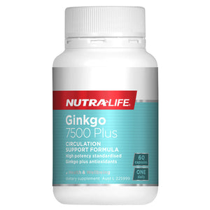 Ginkgo 7500 Plus by Nutralife
