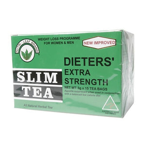 Dieters Slim Tea Extra Strength 15 Teabags by Nutri-Leaf Brand