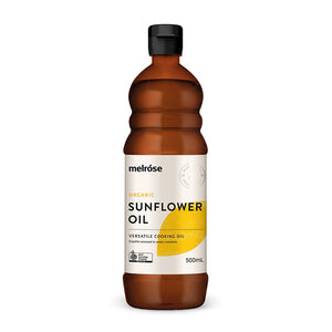 Melrose Organic Sunflower Oil (Cooking) 500ml