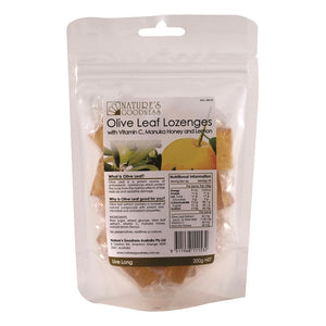 Olive Fruit Antioxidant Lozenges 200g by Natures Goodness