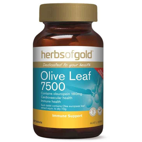 Herbs of Gold Olive Leaf 7500 - Immune Support