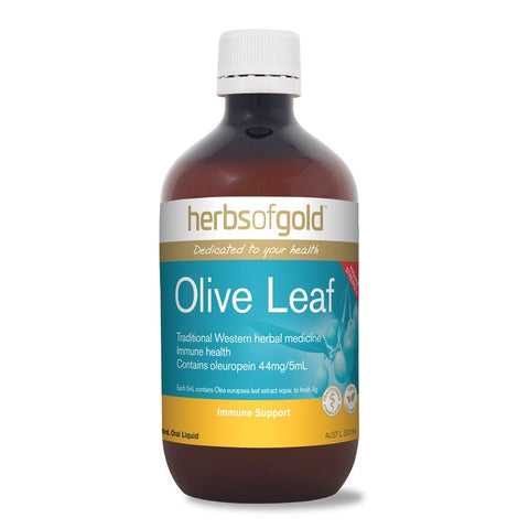 Image of Olive Leaf Liquid High Strength 500ml by Herbs of Gold