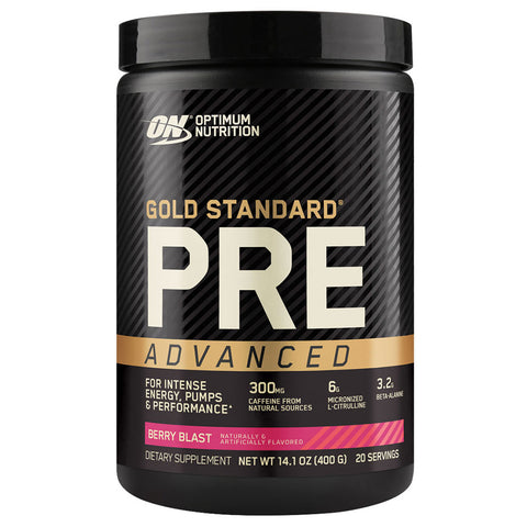 Gold Standard Pre Advanced by Optimum Nutrition