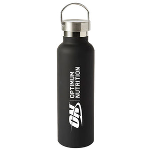 Stainless Steel Water Bottle by Optimum Nutrition