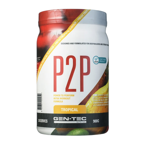 Image of P2P Power To Perform Intraworkout by Gen-Tec