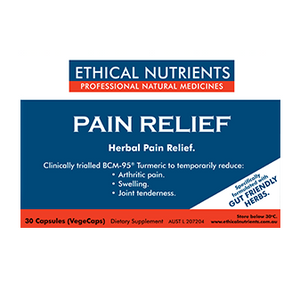 Pain Relief Vege Capsules by Ethical Nutrients
