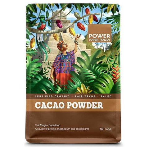 Image of Cacao Powder Raw (Organic) 125g by Power Super Foods