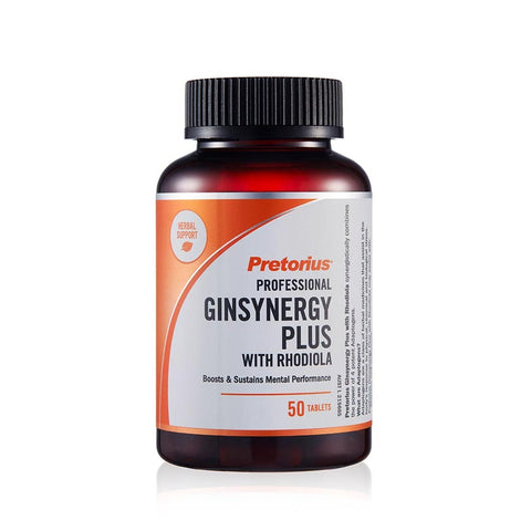 Ginsynergy Plus with Rhodiola by Pretorius
