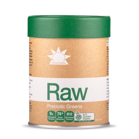 Raw Greens 120g by Amazonia