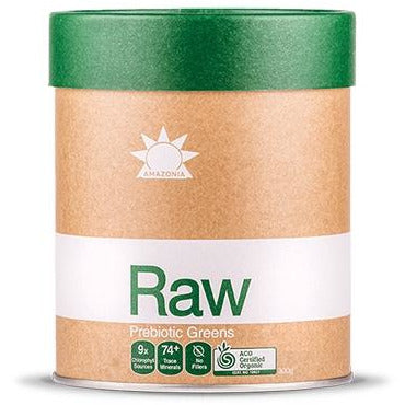 Raw Greens 300g by Amazonia