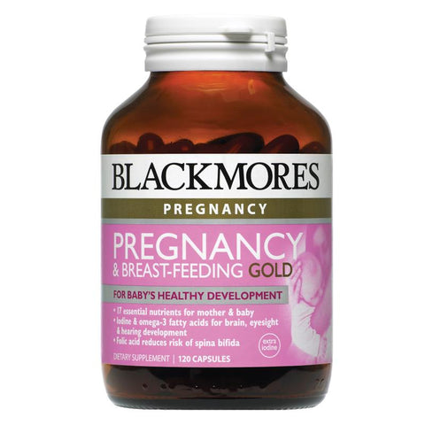 Image of Pregnancy & Breastfeeding Gold 120 Caps by Blackmores