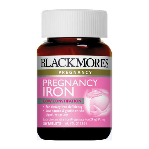 Pregnancy Iron Tablets by Blackmores