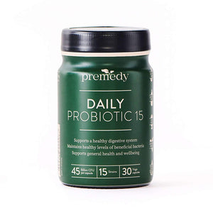 Premedy Daily Probiotic 15 30 Capsules
