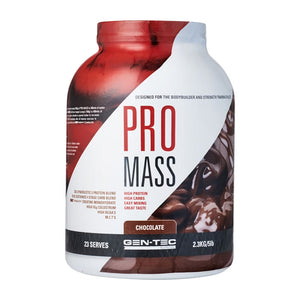 Pro Mass Weight Gainer 2.3kg by Gen-Tec