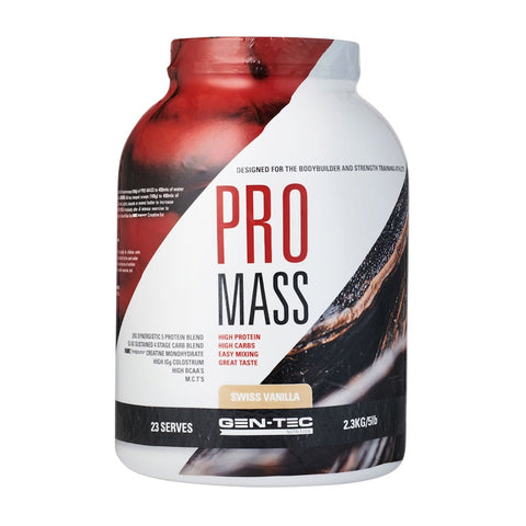 Image of Pro Mass Weight Gainer 2.3kg by Gen-Tec