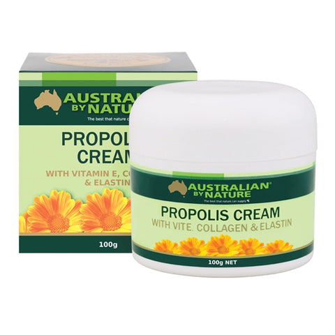 Propolis Cream With Collagen 100g by Australian by Nature