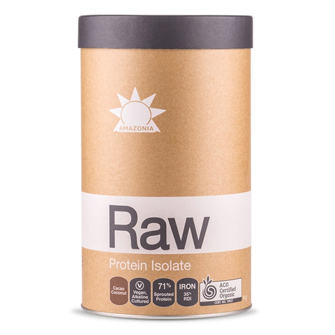 Raw Protein Isolate Flavoured 1kg by Amazonia