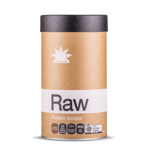 Raw Protein Isolate Flavoured 500g by Amazonia